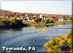 [Towanda from the river bridge]